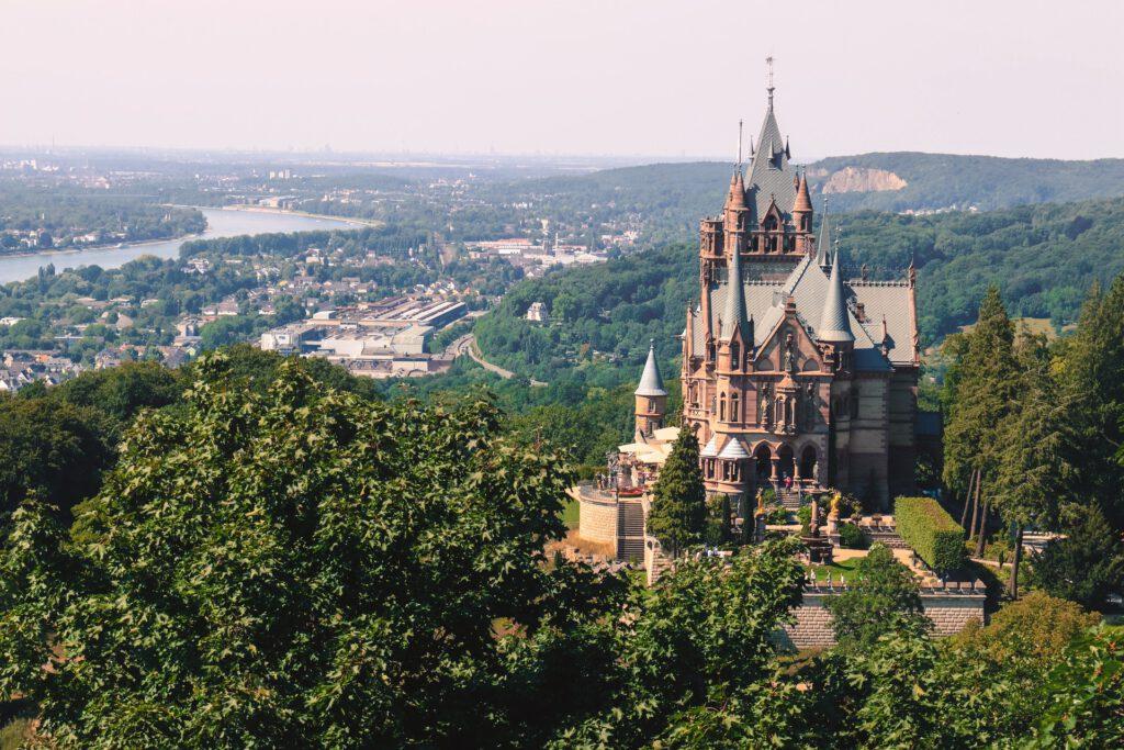 Burg Drachenfels im Siebengebirge