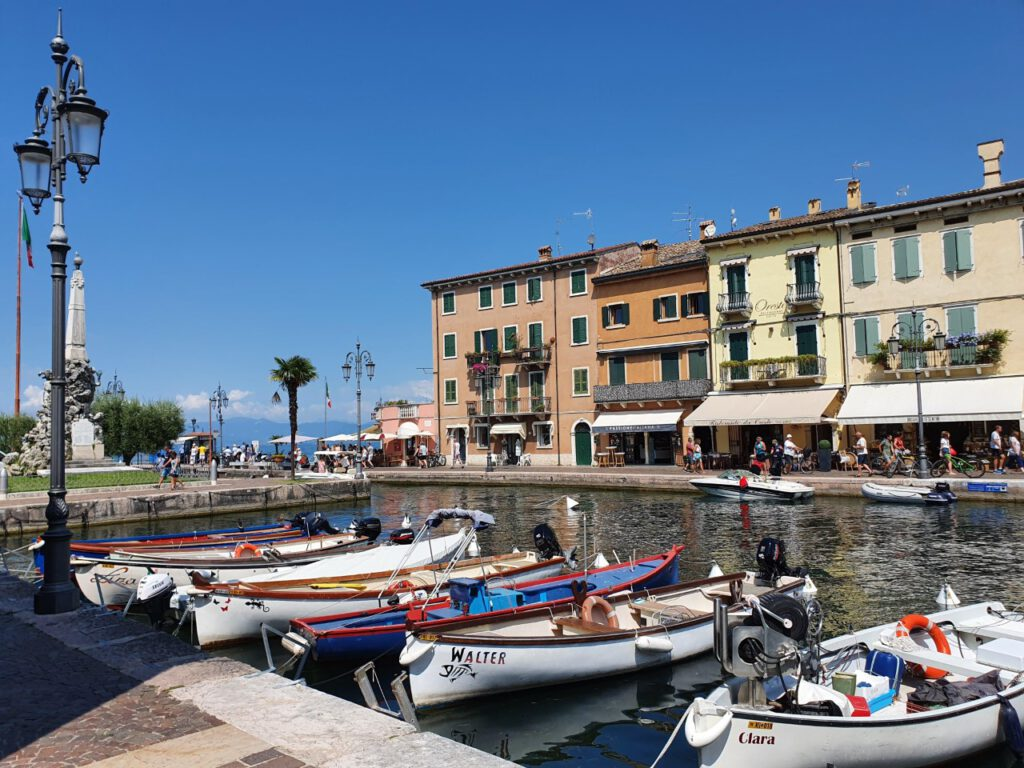Hafen am Gardasee.