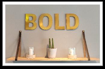 Moderne Ausstattung und modernes Design definieren die Marke BOLD Hotels.