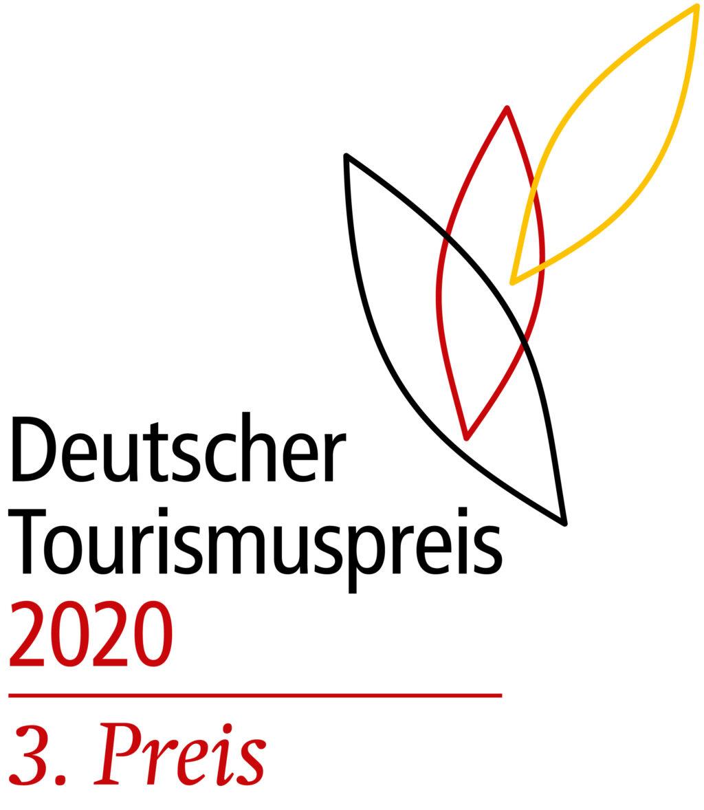 Logo als Drittplatzierter beim Deutschen Tourismuspreis